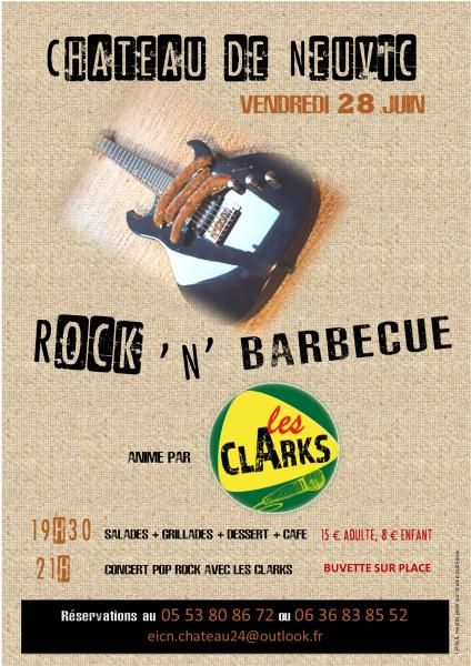 Affiche rock n barbecue